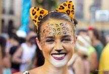Fantasia Carnaval Rua Onça