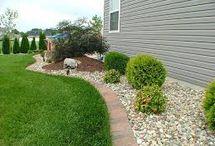 outside - landscaping