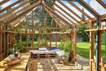 Inspiration - bed/daybed in the greenhouse