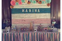 Marina's party ( Bautizo de Marina)