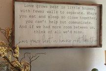 Home Sayings