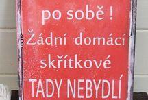 Cedulky ;-)