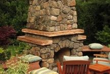 Outdoor Living / Fire place