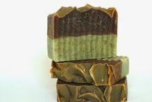 Csoki-menta szappan / Handmade soap