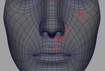 3D Topology / 3D mesh topology - Mostly organic surfaces