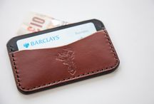 The Stag Cardholder / This is Reigndeer's first ever accessory | 100% Leather & Handmade in the UK | www.reigndeerclothing.com | #ReigndeerCo