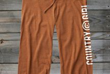 Bottoms / New Country girl bottoms, sweat pants,  / by Country Girl