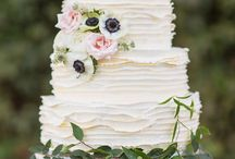Wedding cake rustic