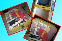 I nostri cofanetti / Cofanetti realizzati singolarmente a mano, personalizzabili su richiesta