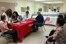 CSC @ Langley Senior Center 8/4 / CSC visited the Langley Senior Center in Monterey Park on 8/4 to provide free blood screening for over 80 senior citizens.