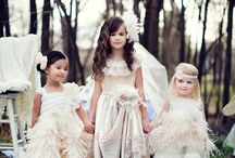 Flower Girl / A collection of flower girl dresses and ideas.