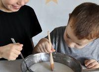idée création avec enfants