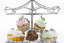 Cup cakes stand