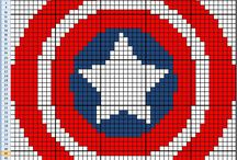 Crochet - superheroes