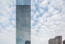 Skyscraper elevation
