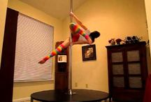 Pole Dancing - Beginning Spin Pole