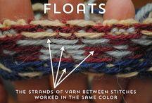 Knitting vocabulary
