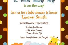 Invitaciónes baby shower