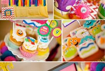 Green Cakes party ideas