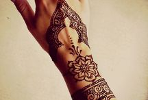 Henna / The Dark beauty of dope Henna Designs