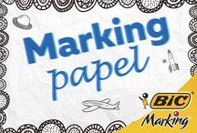 Marking Papel / Dibujos, mandalas, no hay límite para pintar en papel.