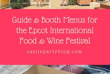 Epcot International Food & Wine Festival! aka the Most Wonderful Time of the Year!