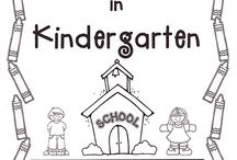 Kindergarten August/September / by Paula Miller