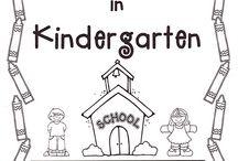 Kindergarten August/September / by Paula Miller
