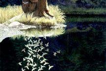 Native American art: Bev Doolittle