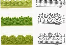 Crochet - Edging and borders