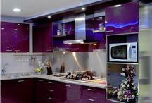 Cozinha roxo