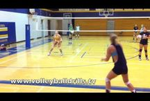 Volleybal training