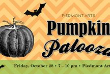 Pumpkin Palooza / Pumpkin Palooza is a friendly pumpkin carving competition and party for the arts on Friday, October 28, 2016. Take in the pumpkin-carving action or enter a team in the carving contest. http://ow.ly/F0Gu304bec2