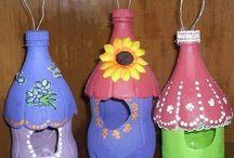 Riciclo bottiglie plastica