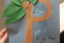 Kids- Crafts- Letter Crafts / by Lindsey Z.