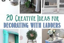 Creative ideas  - how to use ladders