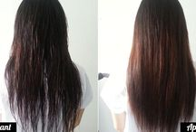 Cheveux maquillage corps