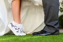 running shoes bride