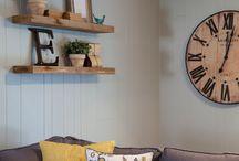 Obývací pokoje, předsíně