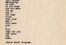 The Poetry of Tyler Knott Gregson