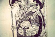 Norseman / vikings. longboats. etc..