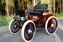 Antiqued Car
