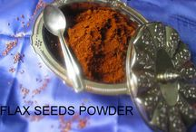 Powder/podi / Used in south-indian preparations, like for breakfast, with idly/dosa or with hot rice