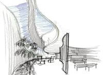 Baca Architects Sketches