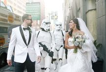 Star Wars Themed Weddings / This Star Wars Wedding is Equal Parts Geek & Chic