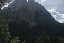 Montañas, lagos, Ríos
