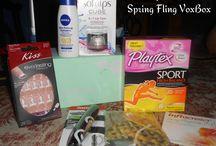 Spring Fling VoxBox via @Influenster #SpringVoxBox / All the fab goodies in the Influenster Spring Fling VoxBox
