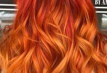 Värjäyksiä - Hair Colours