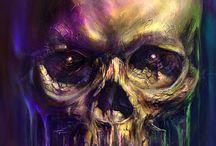 skull, skeleton