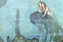 mermaids + fairies